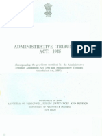 Administrative Tribunals Act 1985