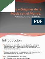 Historia y Orígenes de la Música en el Mundo.