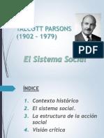 El Sistema Social t. Parsons