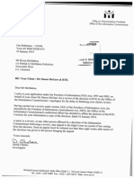 Information Commissioner Decision Re RTE FOI request seeking documents re NNI footage sharing