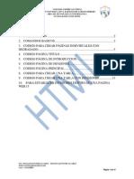 Lenguaje de Marcas de Hipertexto - HTML