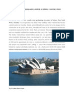 Evaluating the Sydney Opera House Building Construction Project (A MSc academic essay) MSc)