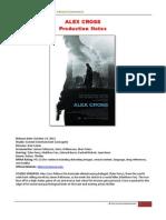 Alex Cross Notes