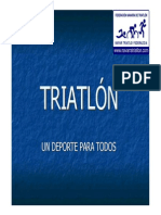 Triatlon Un Deporte