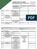 FIL Arequipa - Programa Definitivo 2009