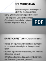 early christian 2013