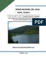 11- perfil represa chalhuacocha
