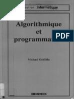 Michael Griffiths Algorithmique Et Programmation 1992