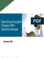 CISCO GET-VPN Overview