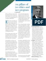 7 Pillars of Effective Ethics and Compliance Program Soru 2