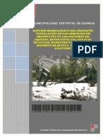 Estudio Hidrologico Final 2012 MD Quinua