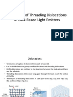 Reduction of threading dislocation
