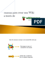 Manual Par Acre a Run a Wiki