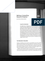 Writing a Compelling Research Proposal