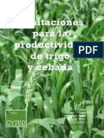 Limitaciones Para La Productividad de Trigo y Cebada