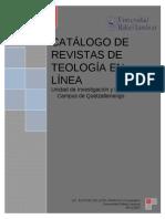Revistas en Linea de Teologia