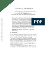 Spectrum Sensing With USRP_E110