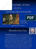 ALEXANDRU IOAN CUZA power point 1.ppt