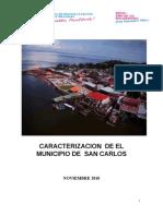 Caracterizacion Final San Carlos Mrm