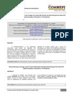Biomonitoramento do Riacho do Lamêgo em Caxias artigo
