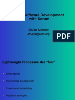 Agile Software Development With Scrum