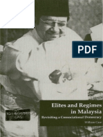 Elites and Regimes in Malaysia