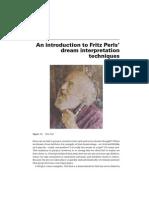 Perls Dream Interpretation