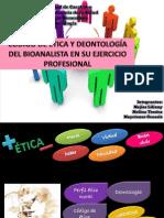 Diapositivas deonto etica