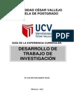 GUIA DESARROLLO DE INVESTIGACIÓN