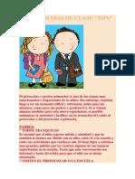 PRIMEROS DÍAS DE CLASE.docx