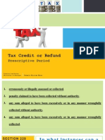 Taxation Report Kme