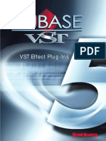 Steinberg Cubase VST Plugins Manual