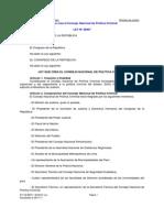 Ley Politica Criminal 29807
