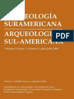 GNECCO, C. y A. HABER. Arqueología suramericana, Vol 2, N_2. 2006