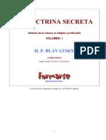 Blavatsky, H P - La Doctrina Secreta 1