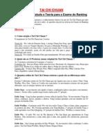 teoria taichi e questões para prova