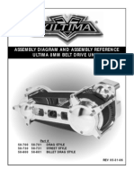 Assembly Diagram and Assembly Reference Ultima 8mm Belt Drive Units