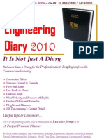 CW Engineering Diary 2010