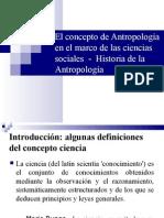 Antropologia y Ciencias Sociales