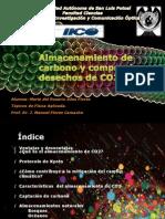 Almacenamiento de Carbono y Compra de Desechos De