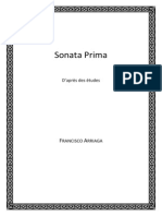 Sonata Prima - D'après des études