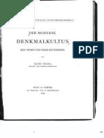 Der Moderne Denkmalkultus.pdf