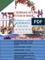 History Caste System