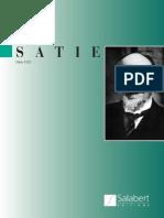 Erik Satie - Catalogo Obras Publicadas