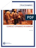 Conflict Dynamics in Karachi