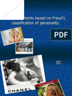 Consumer behavior-advertisements based on Freud theory