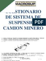 Cuestionario Sistemas Camion Minero