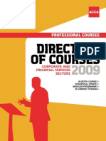 ACCA Course Directory 2009