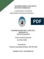 Informe Escrito de Practica Profesional Corregido Mariano
