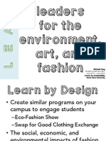 Leaders for the Environment, Art, and Fashion (LEAF)